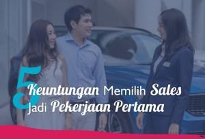 5 Keuntungan Memilih Sales Jadi Pekerjaan Pertama | TopKarir.com