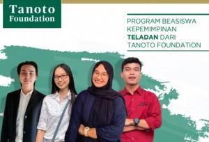 PROGRAM BEASISWA KEPEMIMPINAN TELADAN DARI TANOTO FOUNDATION   TopKarir.com