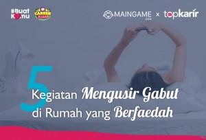 5 Kegiatan Mengusir Gabut di Rumah yang Berfaedah   TopKarir.com